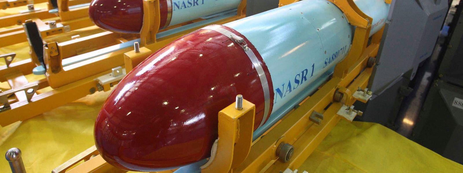 Iranische Marschflugkörper des Typs Nasr 1.