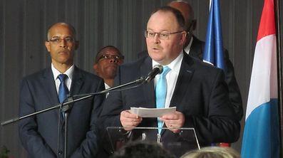 Depois da assinatura do PIC IV, em 2015, Romain Schneider voltou a Cabo Verde, esta segunda-feira, para a 17ª reunião da Comissão Paritária entre os dois países.