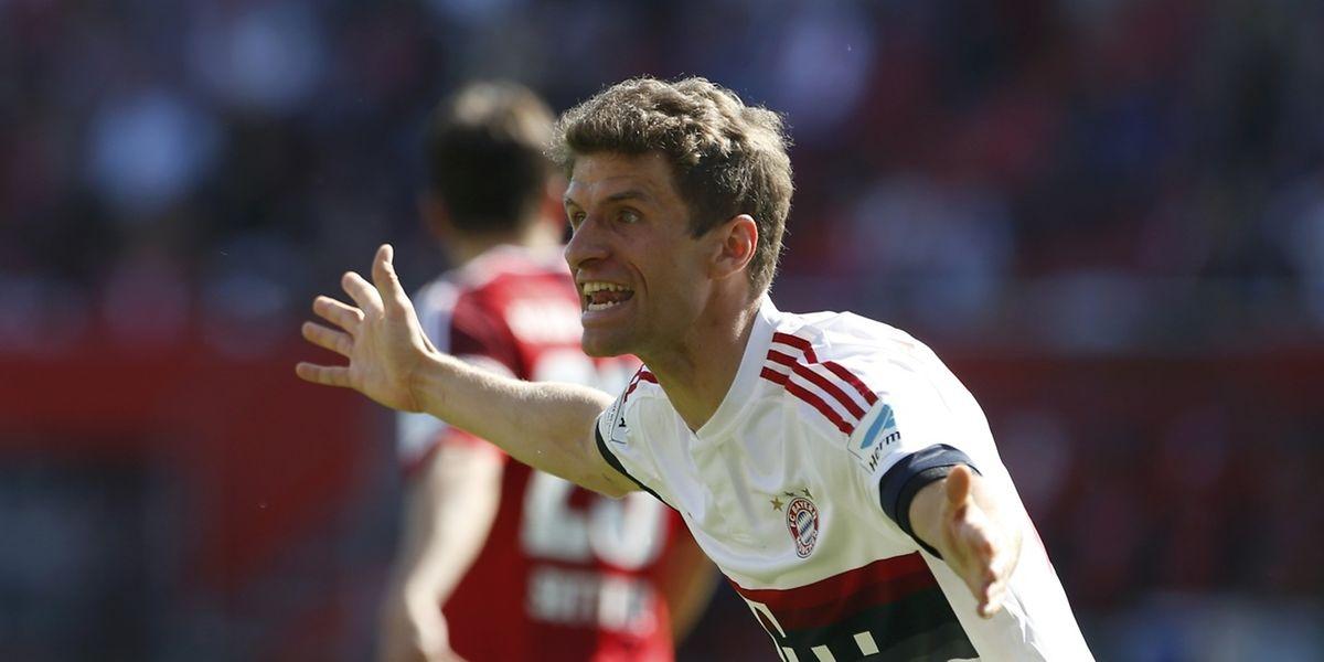 Den Bayern um Thomas Müller ist die Meisterschaft sicher.