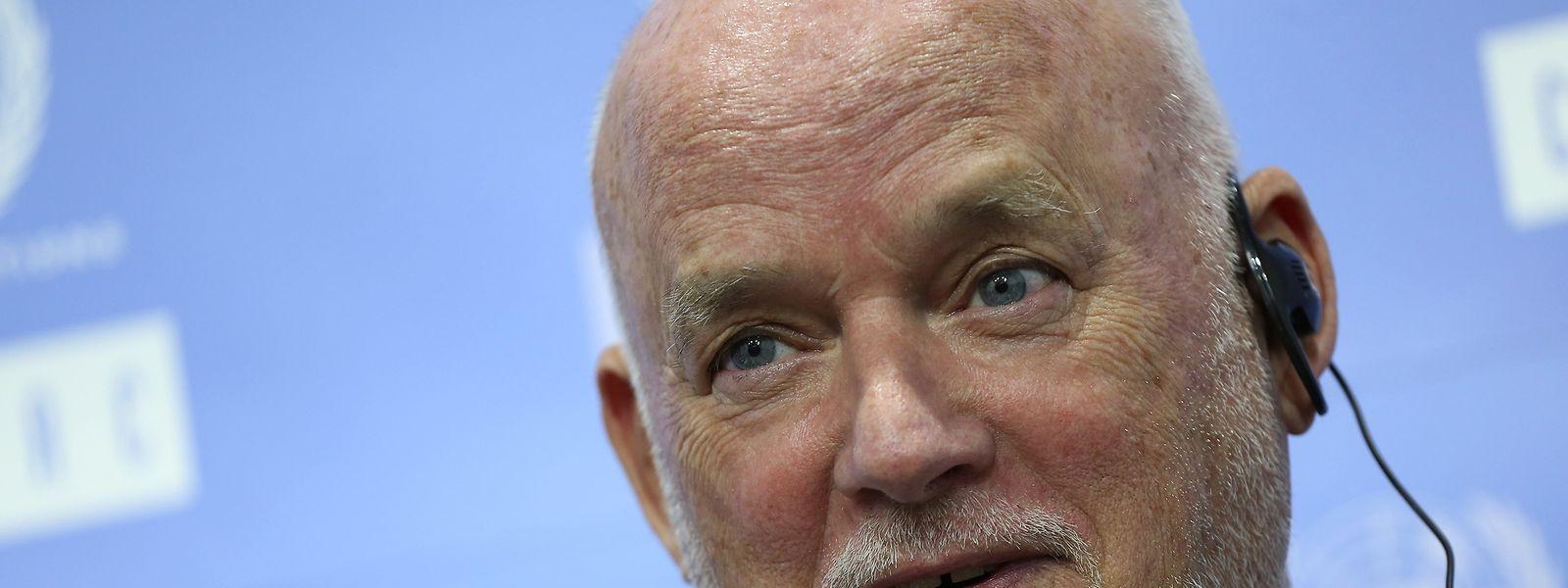 Peter Thomson é o enviado especial do secretário-geral das Nações Unidas para o Oceano.