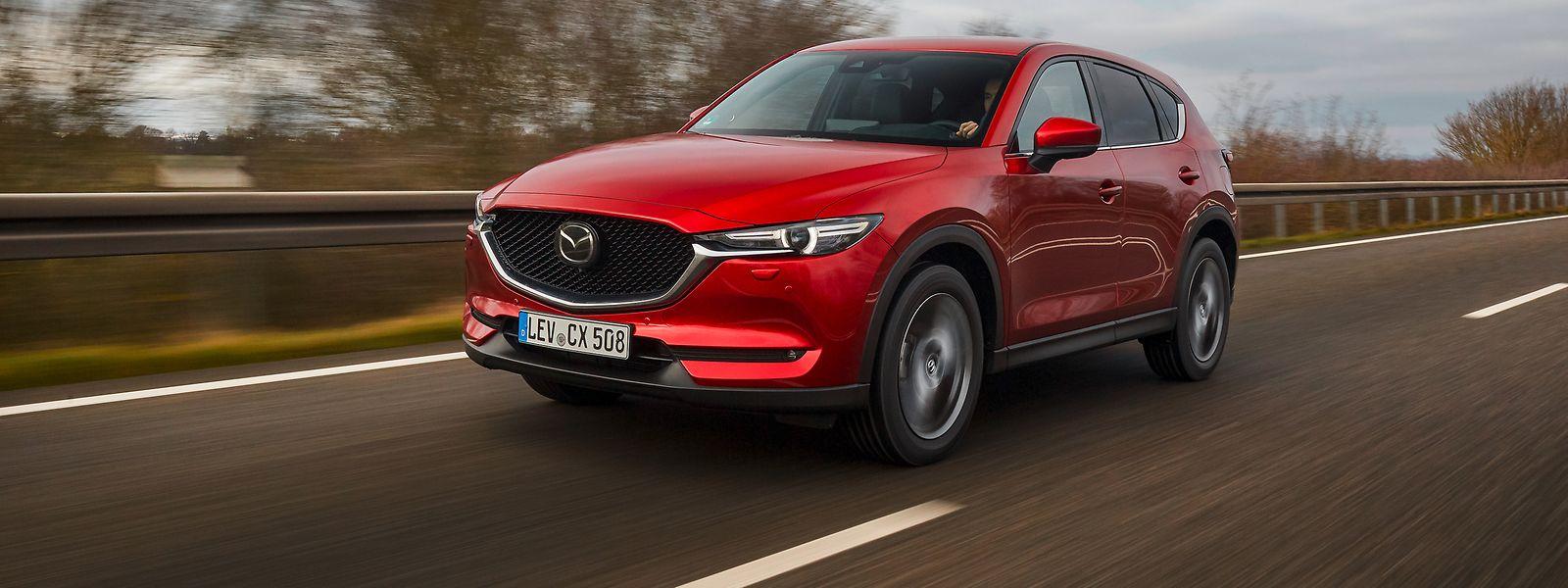 Der neue Mazda CX-5 ist schlicht und elegant - ohne protzig oder aggressiv zu wirken.