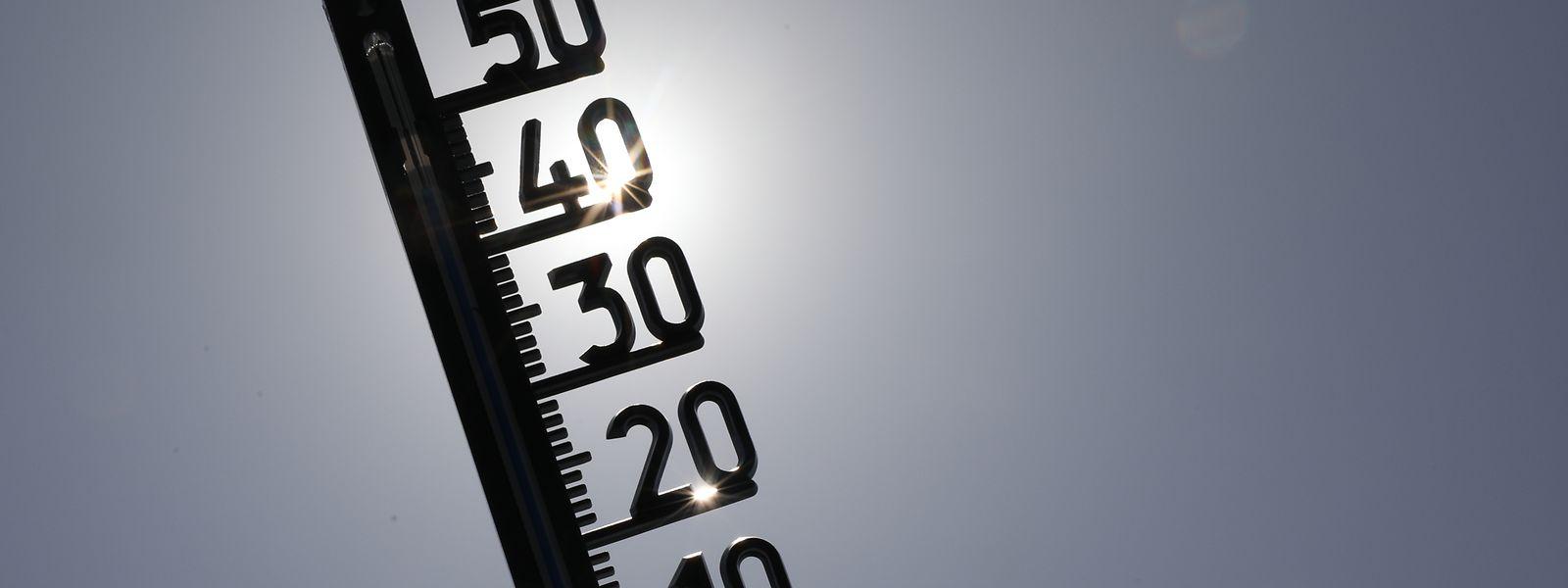 Am 25. Juli stiegen die Temperaturen in Luxemburg bis an die 40-Grad-Marke.