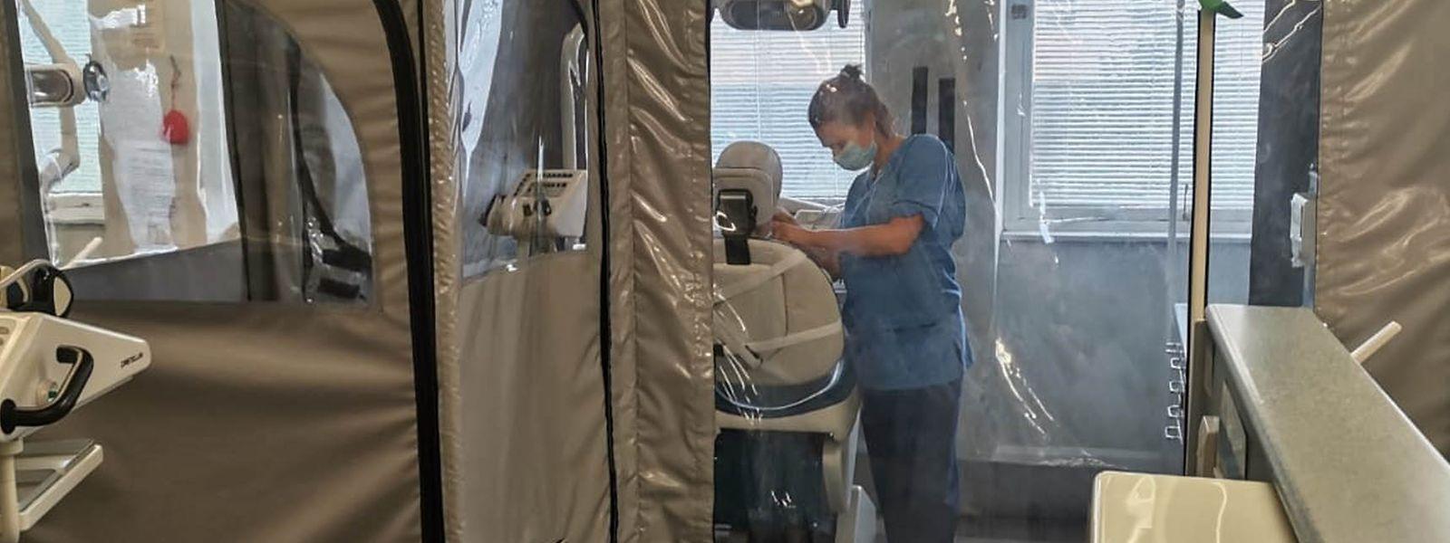 Actuellement, 520 patients covid sont pris en charge dans les hôpitaux de la région Grand Est (contre 136 au Luxembourg).
