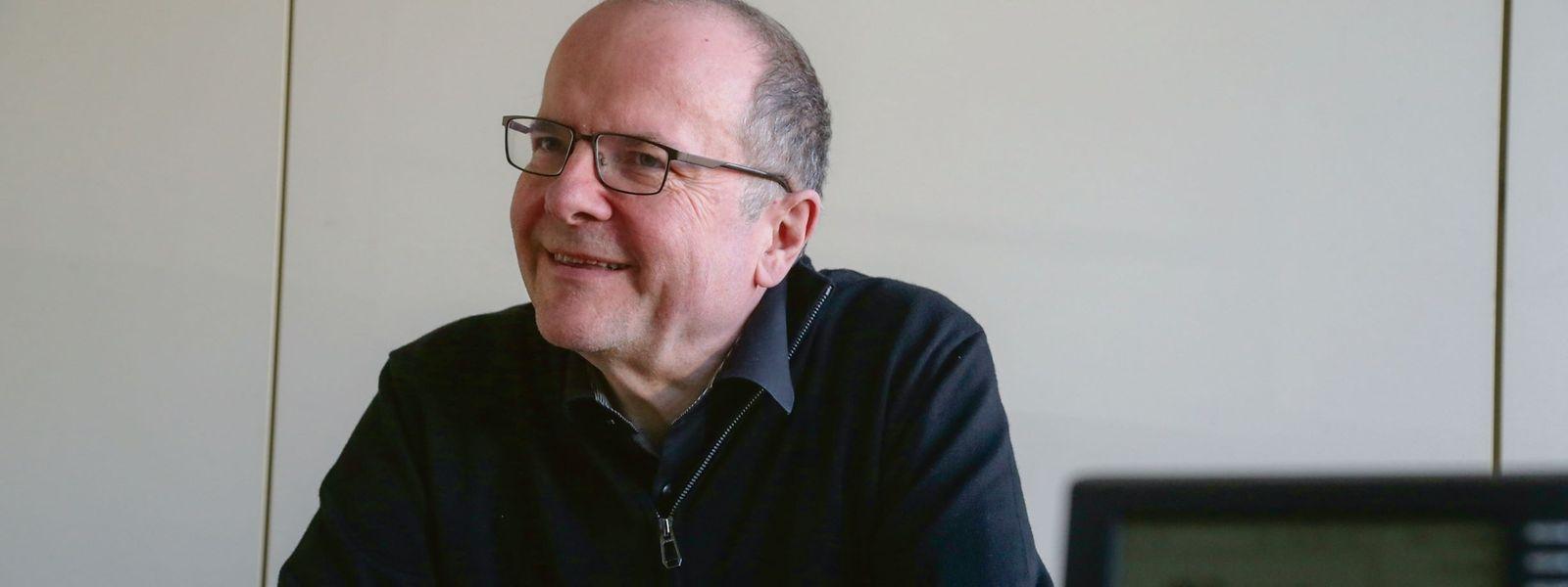 Marc Barthelemy é a primeira pessoa a ocupar o recém-criado cargo de comissário para a língua luxemburguesa.