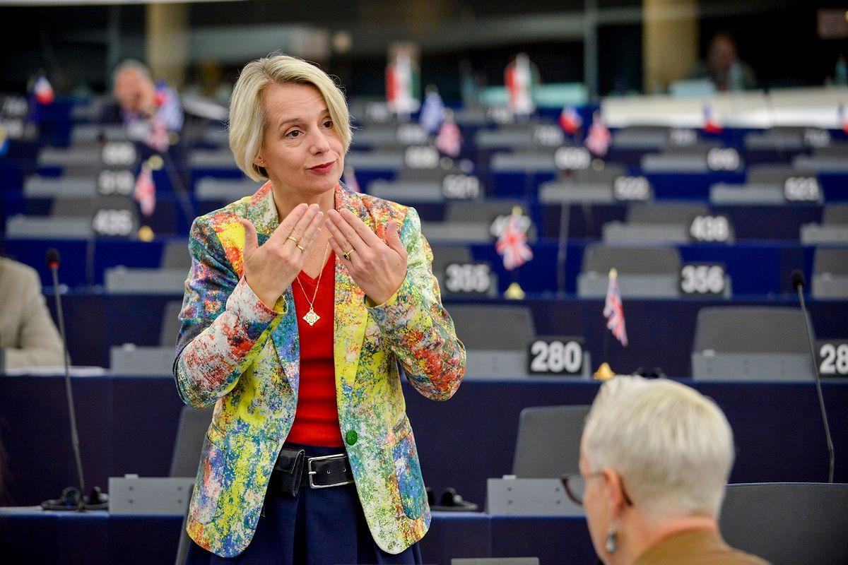 Helga Steven will die Rechte von Menschen mit Behinderungen stärken, während ihre Partei in Belgien Auseinanersetzungen zwischen Flamen und Wallonen fördert.