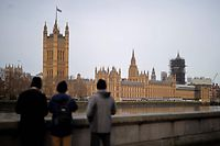 Britain's Houses of Parliament, incorporating the House of Lords and the House of Commons, is pictured in central London on December 16, 2019. - Prime Minister Boris Johnson vowed Saturday to repay the trust of former opposition voters who gave his Conservatives a mandate to take Britain out of the European Union next month. Johnson toured a leftist bastion once represented by former Labour leader Tony Blair in a bid to show his intent to unite the country after years of divisions over Brexit. (Photo by Tolga Akmen / AFP)