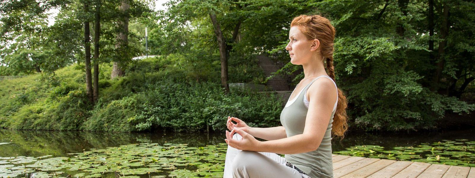 Ganz ohne Zusatzstoffe: Meditation ist ein möglicher Weg zu mehr Konzentration - will aber gelernt sein.