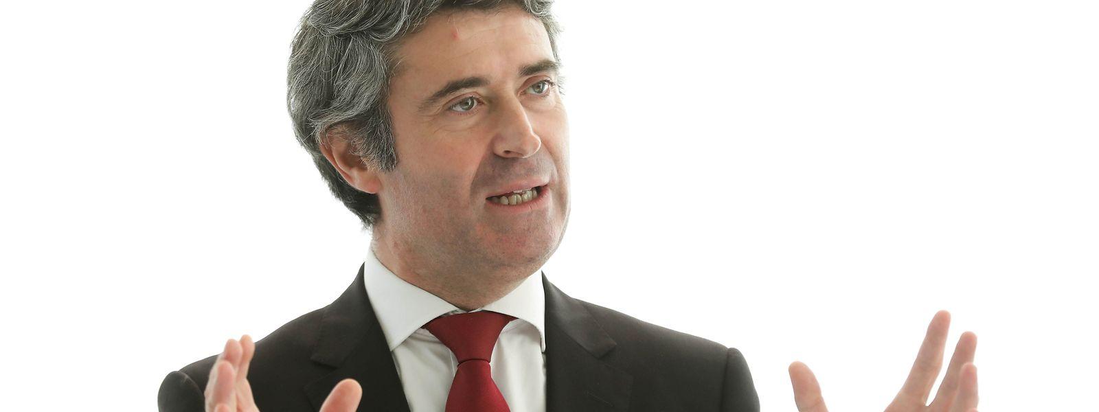 Visite du secrétaire d'État portugais José Luís Carneiro au Luxembourg, le 30 Septembre 2018. Photo: Chris Karaba