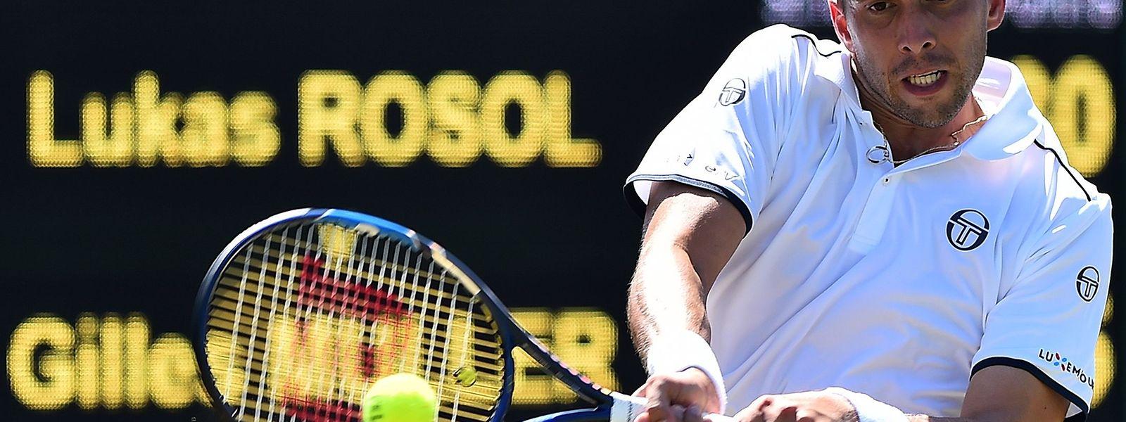 Gilles Muller spielt erstmals in Wimbledon gegen einen Briten.
