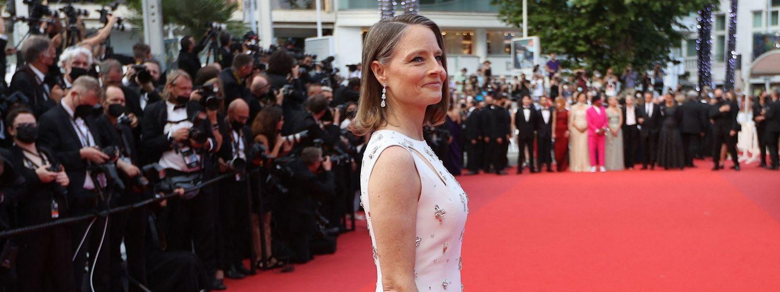 Fühlte sich auf dem Roten Teppich pudelwohl: Jodie Foster vor wenigen Tagen in Cannes.