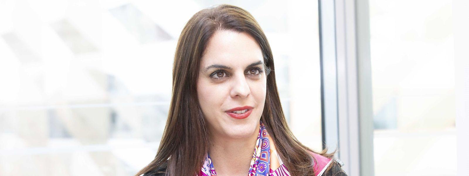 Sarah Khabirpour leitet bei der Banque de Luxembourg den Bereich Compliance.