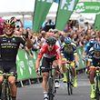 Caleb Ewan a dominé le dernier sprint du Tour de Grande-Bretagne.