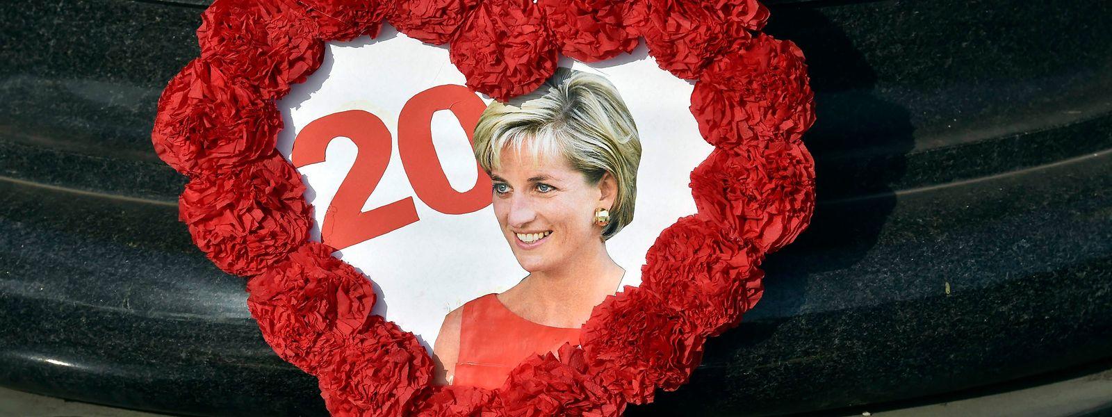 Heute vor 20 Jahren starb Lady Di nach einem Verkehrsunfall in Paris.
