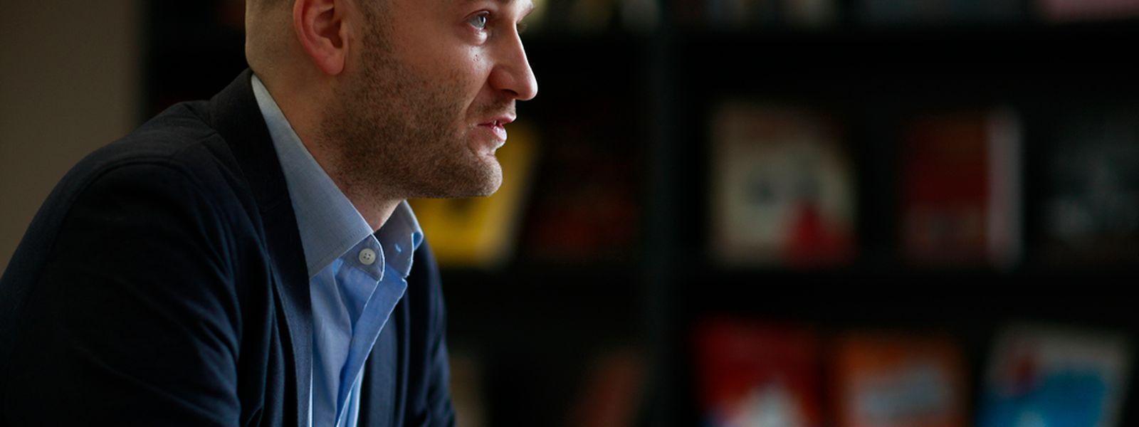Luc Wildanger ist Vorsitzender der Vereinigung der Lehrbeauftragten Acen und Präsident des Lehrerkomitees im Lycée Robert Schuman.
