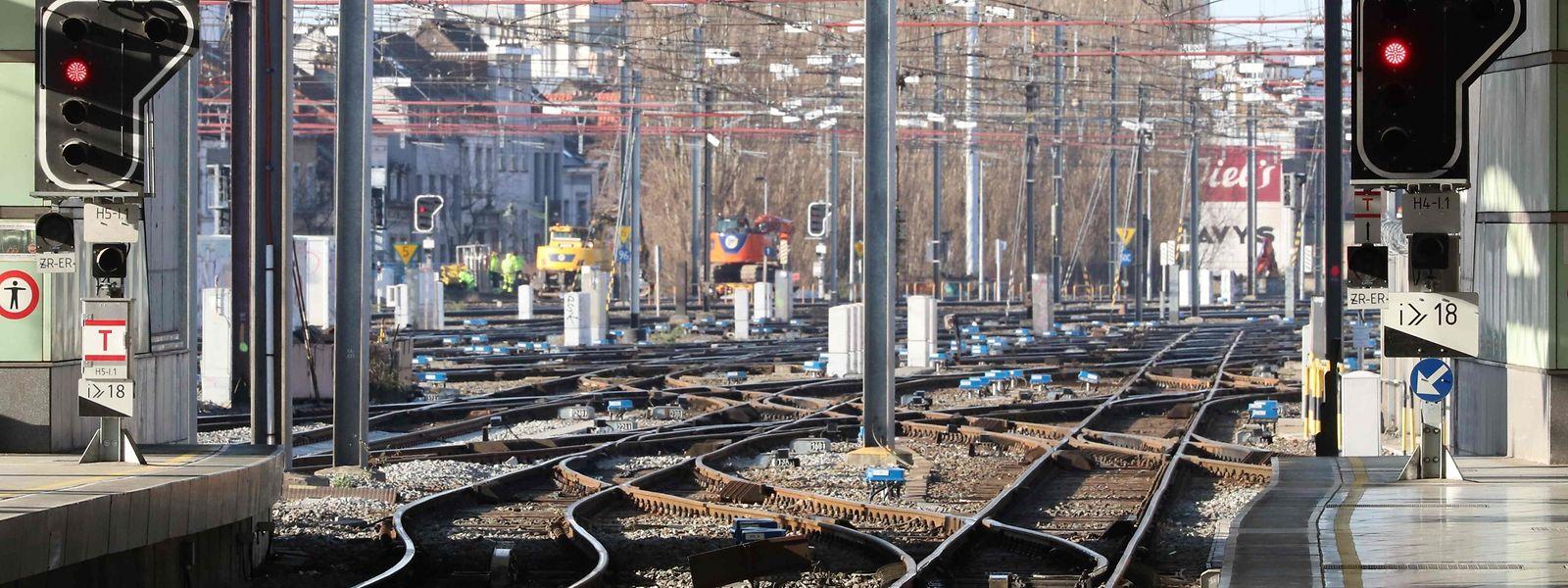 La grève interprofessionnelle a été particulièrement suivie sur le rail belge, avec à peine un train sur deux en circulation.