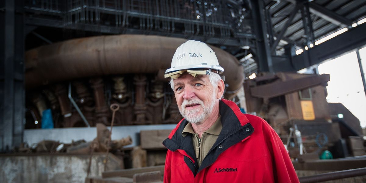 Auch wenn der Hochofen B vor 20 Jahren ausgeblasen wurde, Guy Bocks Leidenschaft für den Stahlriesen lodert immer noch.