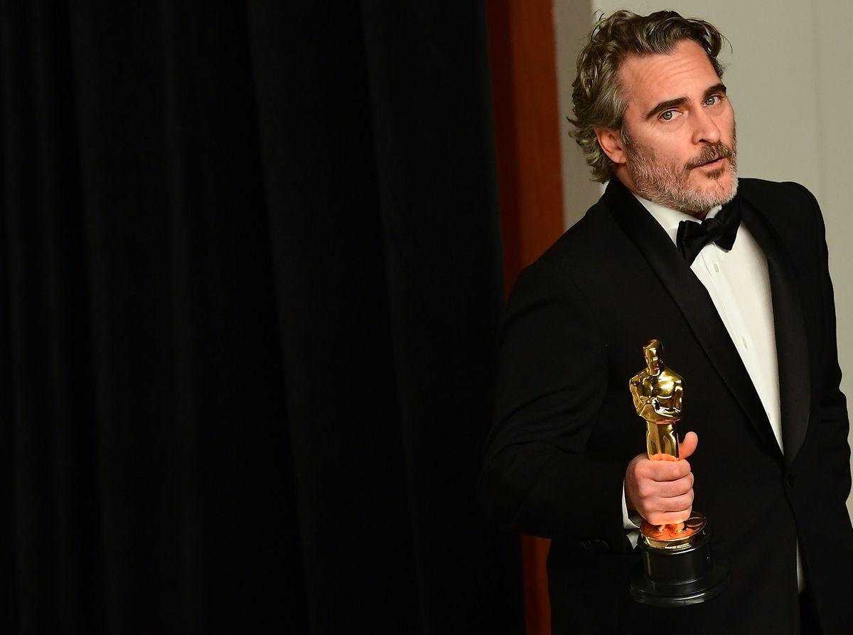 Joaquin Phoenix holte den Oscar für die beste männliche Hauptrolle.