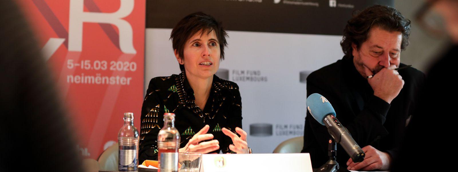 Ainhoa Achutegui, directrice de Neimënster, et Guy Daleiden, directeur du Film Fund Luxembourg, ont dévoilé le programme complet du Pavillon Réalité Virtuelle.
