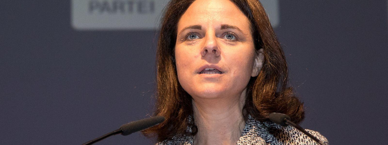 Parteipräsidentin Corinne Cahen sprach am Mittwochmorgen auf der Antenne von RTL Radio.