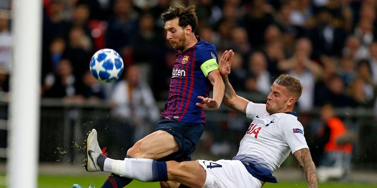 Lionel Messi a fait plier les Spurs à Wembley.