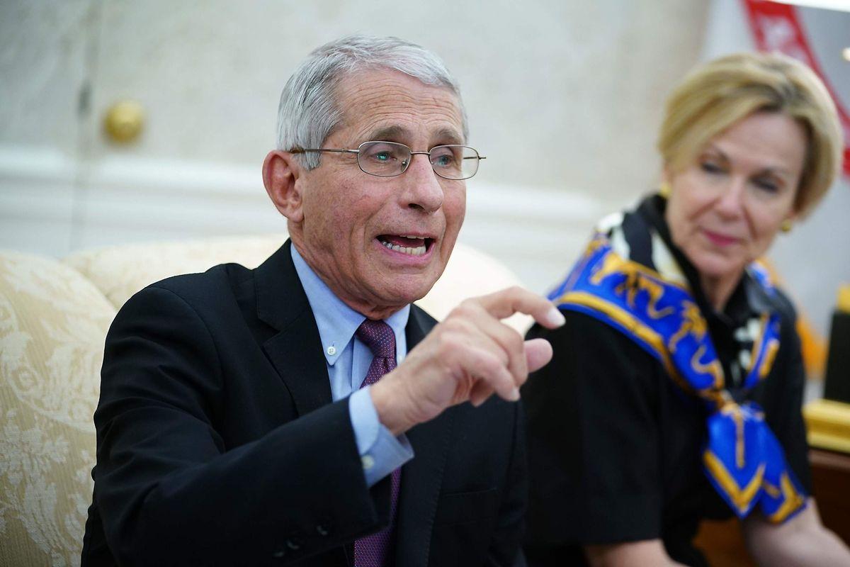 Le Dr. Anthony Fauci, 79 ans, est un vétéran de la lutte contre le sida.