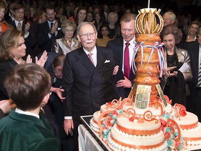 Großherzog Jean bei den Feierlichkeiten zu seinem 95. Geburtstag im Januar.