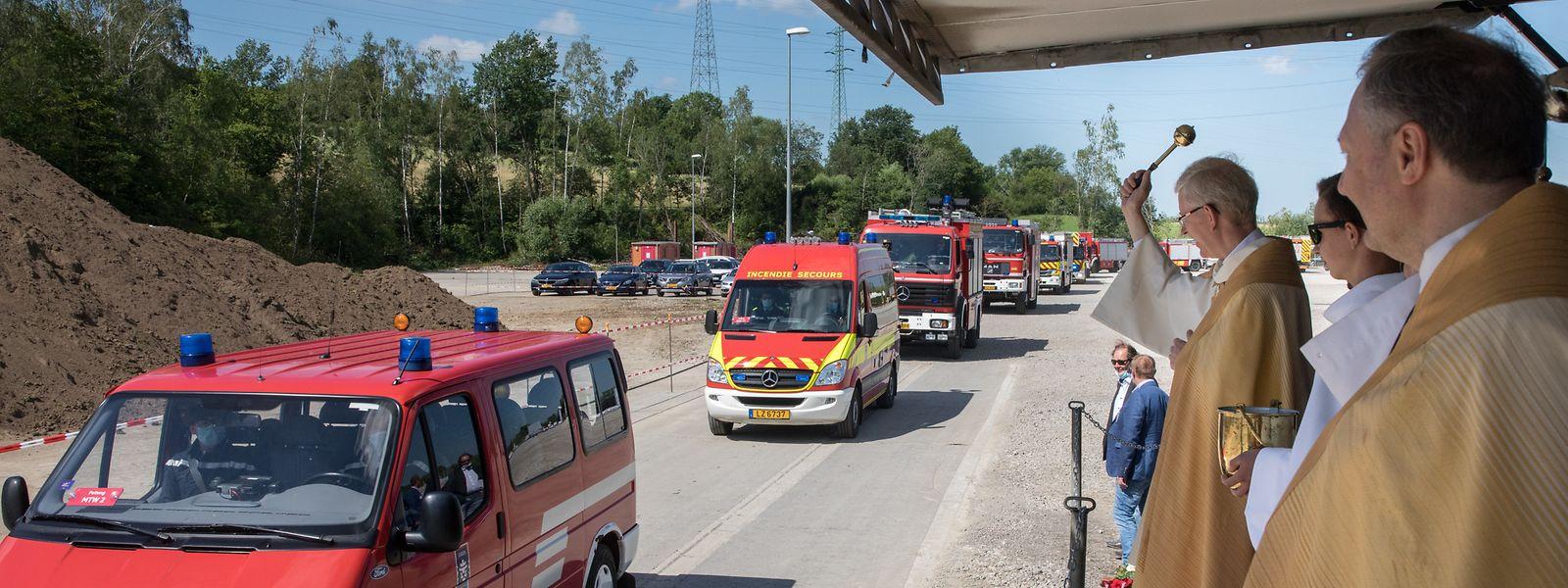 Segen für die Einsatzfahrzeuge der lokalen Rettungsdienste.