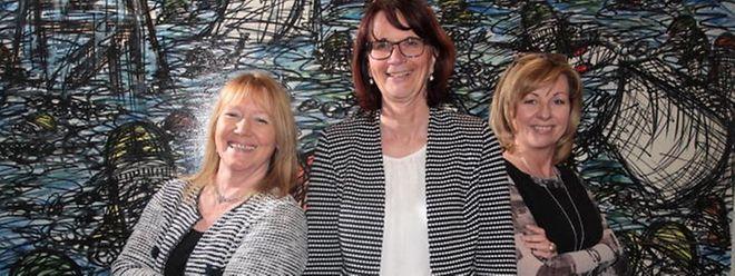 In der Gemeinde Sandweiler besteht der Schöffenrat ausschließlich aus Frauen: Schöffin Jacqueline Breuer, Bürgermeisterin Simone Massard-Stitz und Schöffin Yolande Roller-Lang.