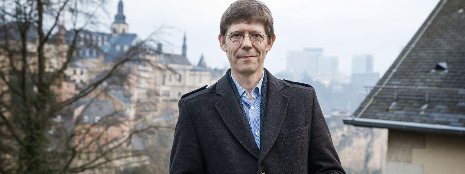 Marc Hansen - dei gréng - Foto : Pierre Matgé/Luxemburger Wort