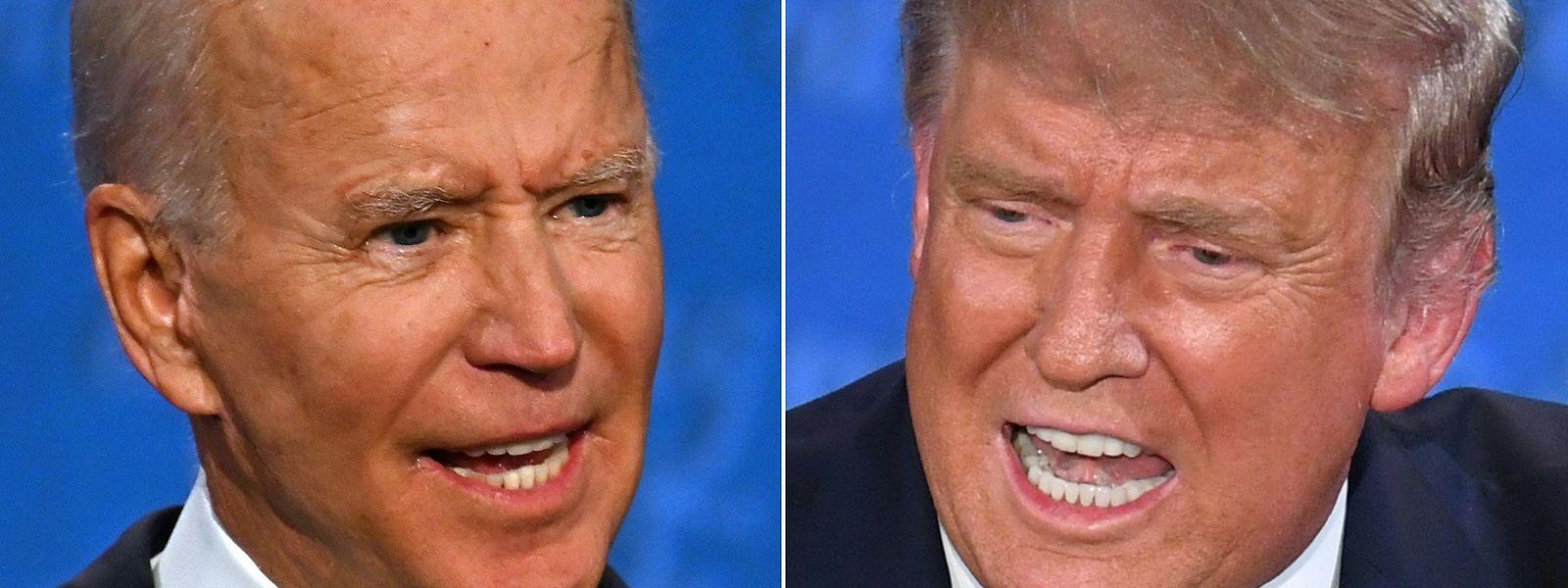 Das Duell zwischen Herausforderer Joe Biden und Amtsinhaber Donald Trump war geprägt von Beleidigungen und Beschimpfungen. Echte Debatten fanden nicht statt.