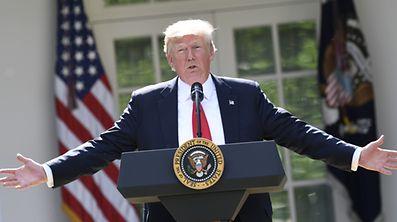 Wie in der Klimapolitik sind die USA auch in Steuerfragen unter Trump skeptisch gegenüber internationalen Abkommen.