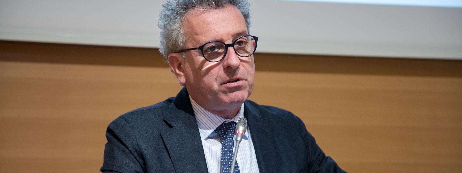 Le ministre des Finances, Pierre Gramegna montera ce lundi après-midi au perchoir de la Chambre pour la présentation du budget 2020