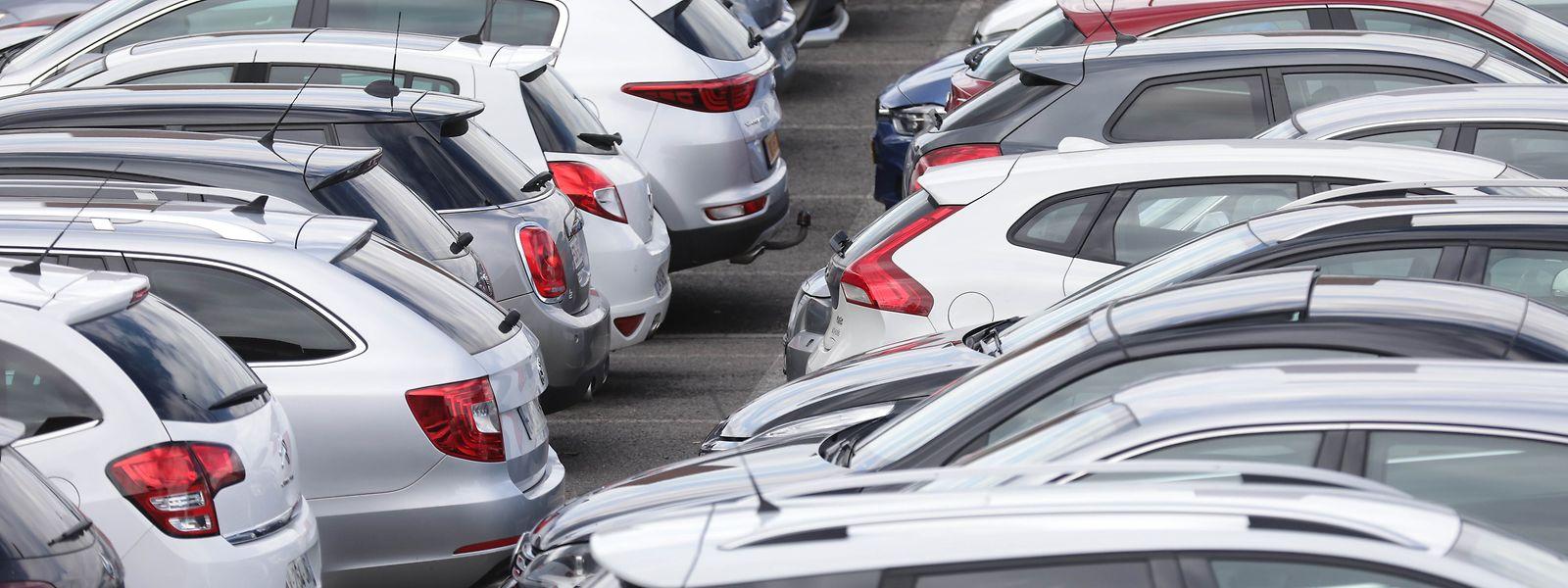 Le Luxembourg compte de plus en plus de voitures.