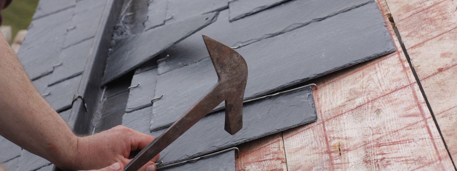 Auch Dacharbeiten werden oftmals von dubiosen Firmen angeboten.