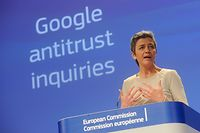 Margrethe Vestager, Member  of the EC in charge of Competition,  read out of the college meeting