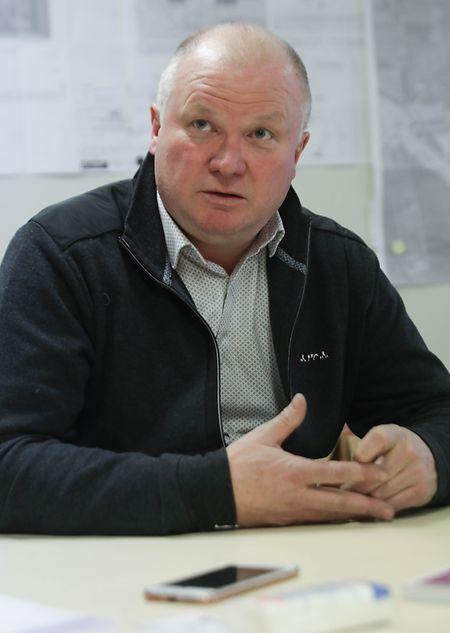 Jean-Marie Becker, dirigeant de Xardel Démolition