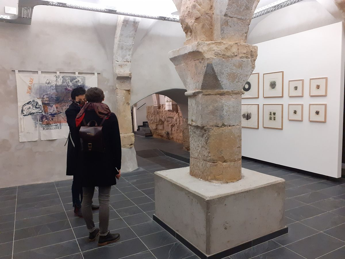 The exhibition in the new Fellner Contemporary gallery Photo: Yasemin Elçi