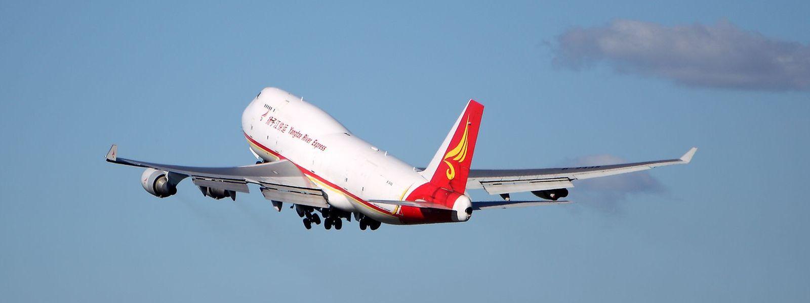 Yangtze ist der fünftwichtigste Kunde der Luftfracht-Drehscheibe Luxemburgs.