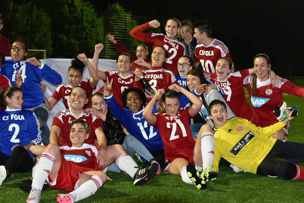 Les filles du Fola veulent continuer à faire la fête, en Ligue 2