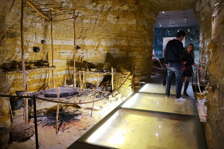 Im Musée national d'histoire et d'art konnten die Besucher unter anderem archäologische Exponate bestaunen.