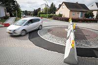 Massnahmen in Bettemburg um gegen Schleichverkehr anzukommen - Foto: Pierre Matgé/Luxemburger Wort