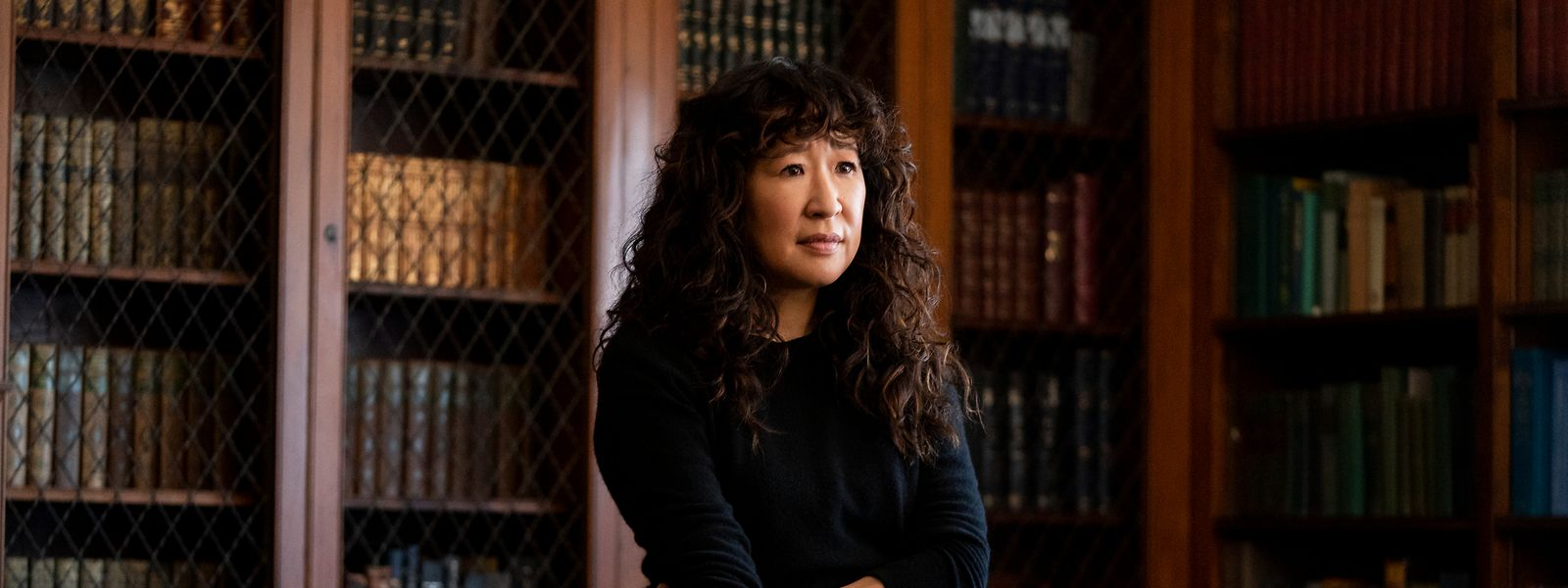 """Vom Krankenhaus in """"Grey's Anatomy"""" zu einem Uniposten: Sandra Oh spielt die Professorin, die frischen Wind auf den Campus bringen soll."""
