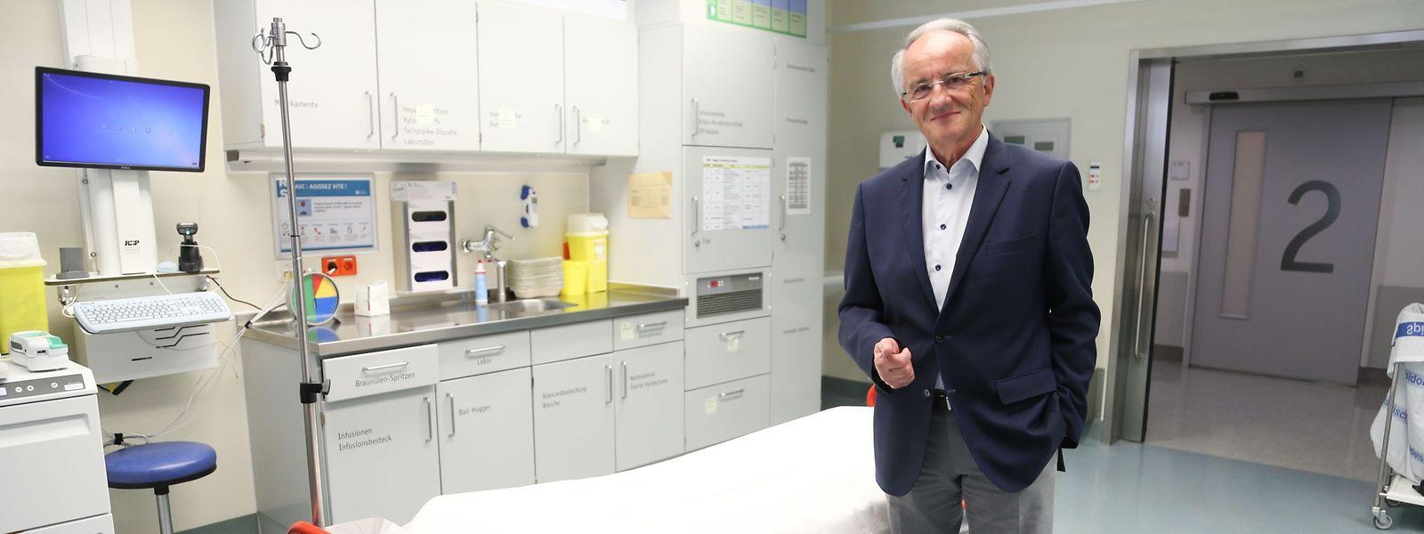 """Dr. Raymond Lies: """",Lifelong learning' sollte zu den Leitmotiven eines Arztes gehören."""