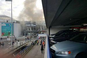 Bruxelles: explosion à l'aéroport de Zaventem.