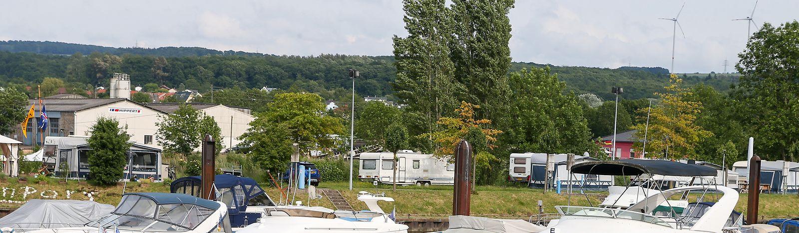 Der Campingplatz in Schwebsingen wird auch von der Maßnahme profitieren.