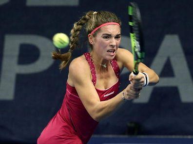 Eléonora Molinaro a perdu le deuxième simple du match contre la Slovénie.