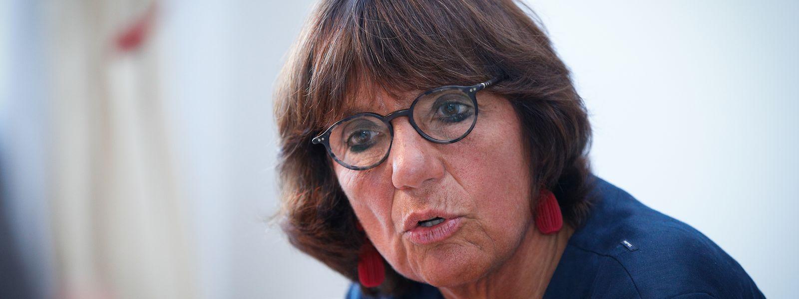 Martine Solovieff regrette la disparition de certaines phrases sur l'indépendance du parquet dans le texte de la Constitution en cours de révision. Et la magistrate ne s'en cache pas.