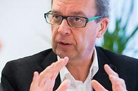 Interview mit Herrn Staatssekretär Camille Gira, Foto Lex Kleren