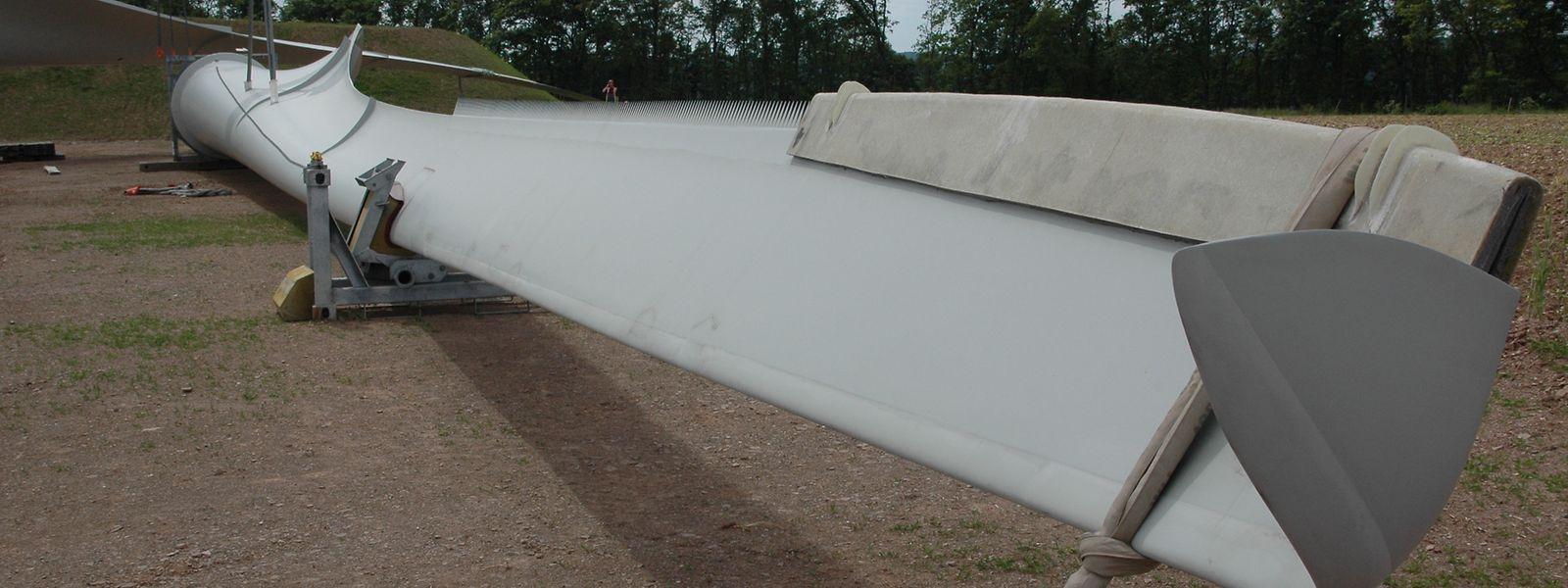 Im Windpark Harlingen-Tarchamps werden Rotorblätter mit einer Länge von 46 Metern zum Einsatz kommen.