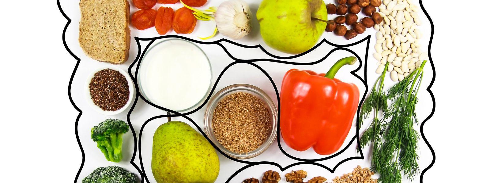 Das Mikrobiom im menschlichen Darm hat auch Einfluss auf andere Bereiche des Körpers. Eine gesunde und ballaststoffreiche Ernährung sorgt für eine gesündere Darmflora.